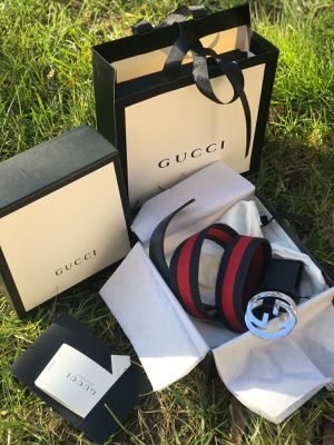 GUCCI belt web fabric for Sale in PA, US