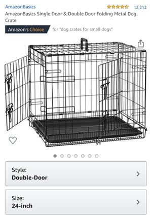 Small dog crate WITH cover! for Sale in San Diego, CA