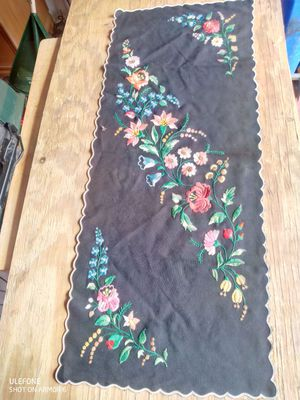 Hungarian hand-embroidered table cloth for Sale in Westlake, MD