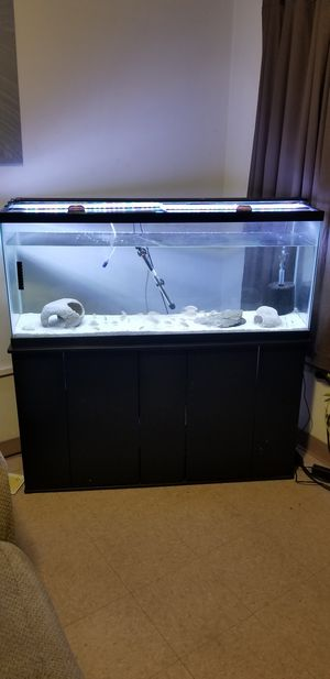55 Gallon Fish Tank/Stand for Sale in Baltimore, MD