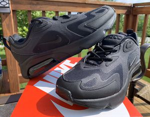 NEW WOMENS NIKE AIR MAX 200 BLACK SHOES SIZE 8.5 for Sale in Lewis Center, OH