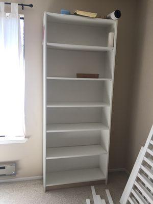 """Bookcase, white, 31 1/2x11x79 1/2 """" for Sale in Richmond, CA"""