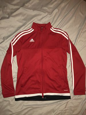adidas red jacket for Sale in Tampa, FL