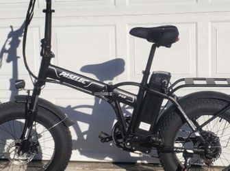 ☆SALE!!!☆ (NEW) Paselec⚡Electric Bike⚡28 MPH/45 miles max dist/500watt motor/holds up to 325lbs (foldable/folding/fold up)🚀 for Sale in West Covina,  CA