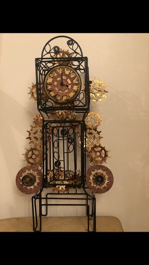 Hand made decorative steampunk clock for Sale in Lake Oswego, OR