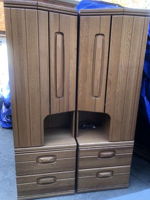 Bookcases, bookshelf, Storage Lighted cabinets. $90 for both or $45 each 0BO for Sale in Pleasanton, CA