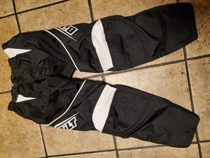 Bilt Motorcycle Pants Size 26Y Like new riding pants Ignore Yamaha Raptor Suzuki Quad for Sale in Ontario, CA