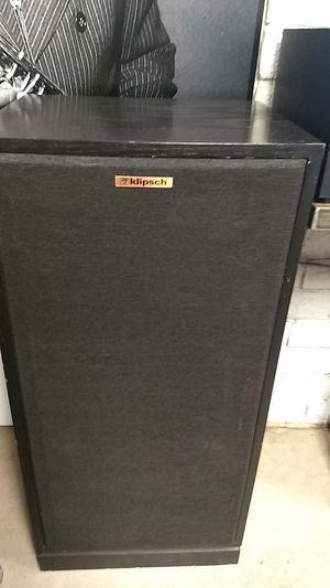 Klipsch Chorus II Hi-Fi speakers, pair, black finish for Sale in Phoenix, AZ