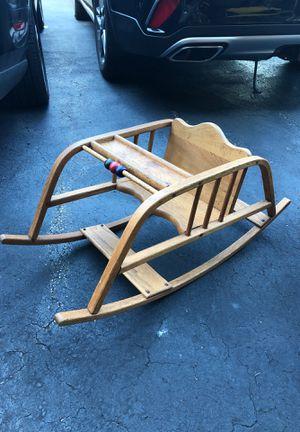 Antique wooden child rocker for Sale in Winneconne, WI