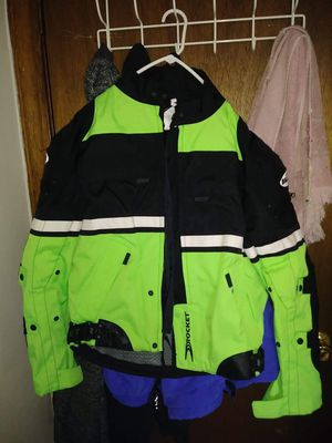 Kawasaki motorcycle jacket for Sale in Youngstown, OH