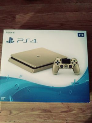 Gold Playstation 4 Slim 1Tb for Sale in Modesto, CA