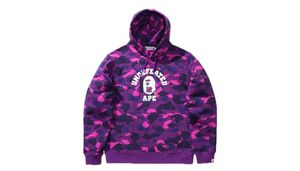 BAPE x A Bathing Ape Undefeated purple camo camouflage pullover hoody hoodie sweater for Sale in Aspen Hill, MD