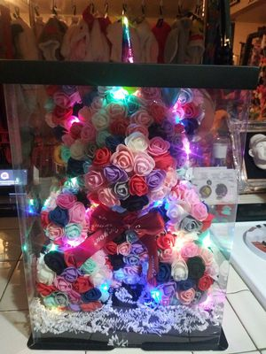 New light up unicorn/bear made out of foam for Sale in Fresno, CA