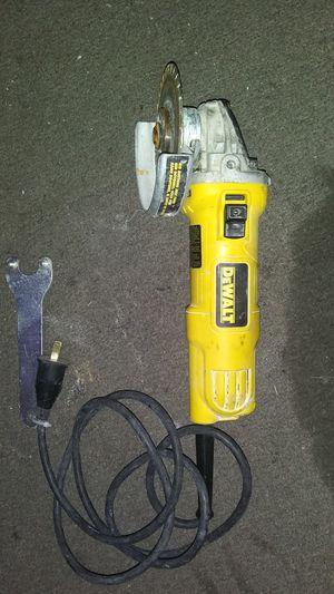 Dewalt grinder used works great for Sale in Sacramento, CA