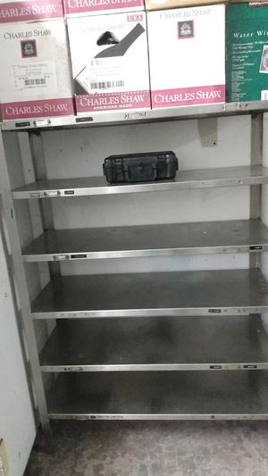 Stainless steel Commercial Kitchen shelf for Sale in Seattle, WA