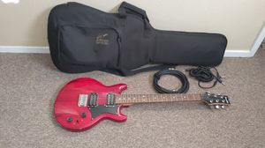 Ibanez electric guitar with padded gig bag and extras for Sale in Centennial, CO