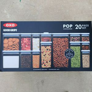 OXO Good Grips Pop Container 20 Piece Set Brand New for Sale in Houston, TX