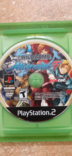 Wild Arms-Alter Code F (PS2) $75 or best offer for Sale in Phoenix, AZ