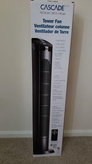 Cascade , tower fan for Sale in Dublin, OH