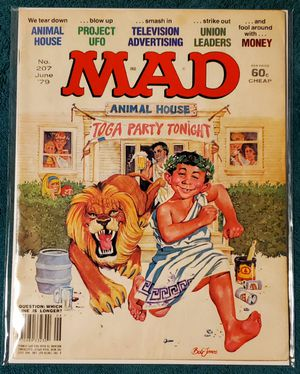 Mad Magazine #207 (June 1979) Animal House Cover for Sale in Buena Park, CA