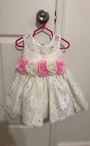 White floral dress for Sale in Woodbridge, VA