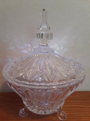 Antique Lead Crystal Covered Candy Dish for Sale in Dittmer, MO