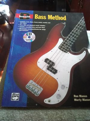 LEARN Bass Guitar Book + CD for Sale in Colton, CA