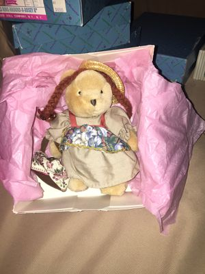 Madame Alexander 'Anne of Green Gables' plush bear for Sale in Chesapeake, VA