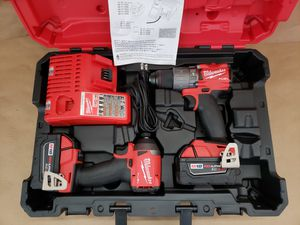 MILWAUKEE M18 FUEL HAMMER DRILL KIT for Sale in Greenville, SC