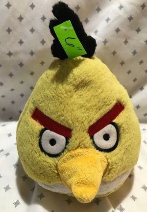 "6"" Angry Bird stuffed animal $5.-Open page to see the rest for Sale in Menifee, CA"