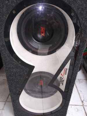 Single reflex bandpass subwoofer systemb for Sale in Philadelphia, PA