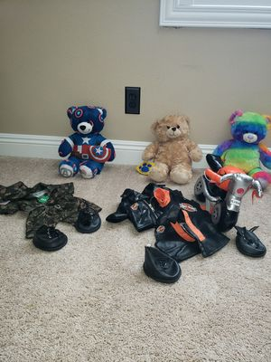 Build a Bear plush and accessories for Sale in Las Vegas, NV