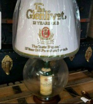 Vintage Glenlivet Scotch promotional lamp for Sale in Rockland, MA
