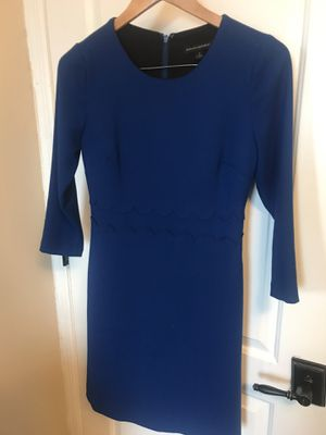 Banana Republic 3/4 Length Sleeve Shift Cobalt Blue Dress, Size 2 for Sale in Washington, DC