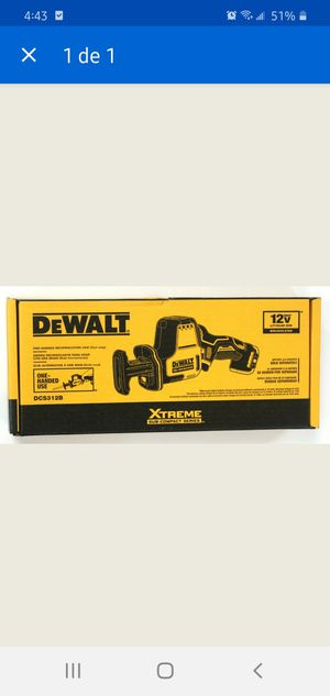 Dewalt DCS312b  12V MAX VS Reciprocating Saw (Tool Only) for Sale in Dumfries, VA