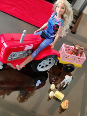Barbie rancher with tractor and friends for Sale in Norwalk, CA