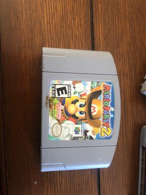 Mario Party 2 N64 for Sale in Lake Elsinore, CA