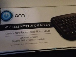 Never used wireless keyboard and mouse set for Sale in San Tan Valley, AZ