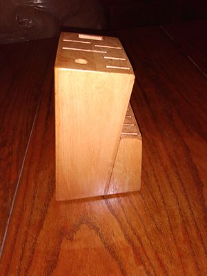 wood Kitchen Knife Case for Sale in Kent, WA