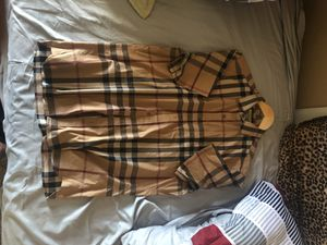 Burberry short sleeve button up. for Sale in Portland, OR