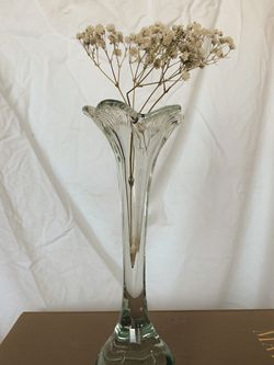 Vintage Glass Lily Vase for Sale in Los Angeles,  CA