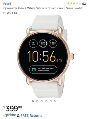 Fossil Smart Watch: Q Wander Gen 2, $200 for Sale in Pompano Beach, FL