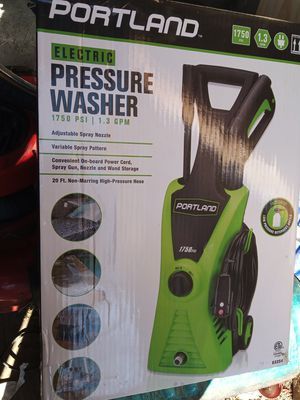 Portland pressure washer electric 1750 PSI for Sale in Columbus, OH