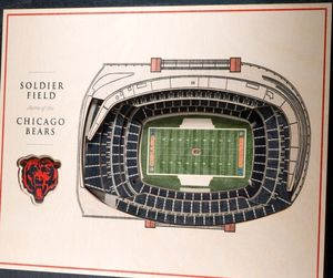 4 Chicago Bears vs Detroit Lions tickets for Sale in Schaumburg, IL