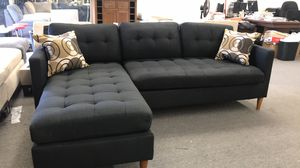New black sectional couch /$50 down / FREE Delivery for Sale in Anaheim, CA