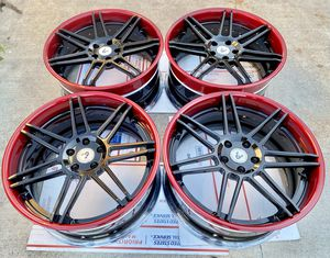 Iforged equip 3 piece forged wheels 20x9.5 5x112 for Sale in Garden Grove, CA