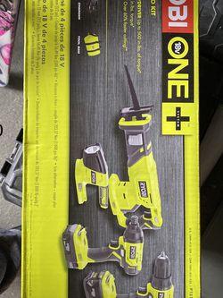 New In Box Ryobi Combo Tool Set for Sale in Staten Island,  NY