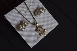 """Brand New"" Sterling Silver Owl set for Sale in Gainesville, FL"