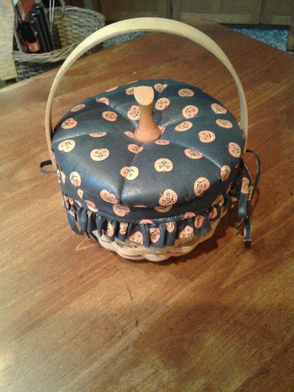 Longaberger Halloween basket