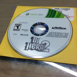 Xbox 360 Dj Hero 2 for Sale in Hialeah,  FL